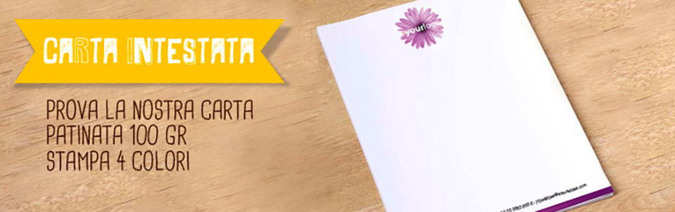 carta intestata happy service
