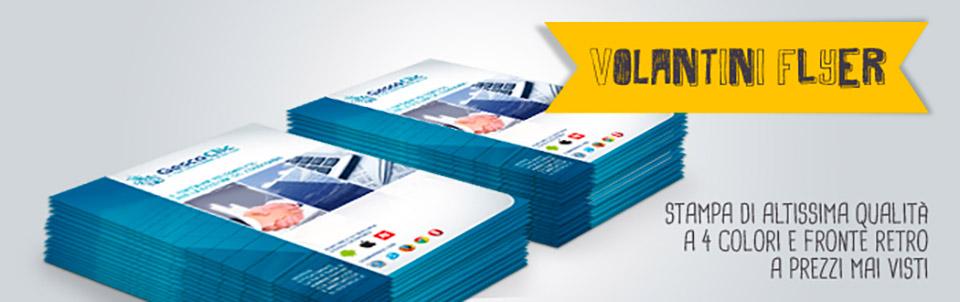 volantini flyer happy service