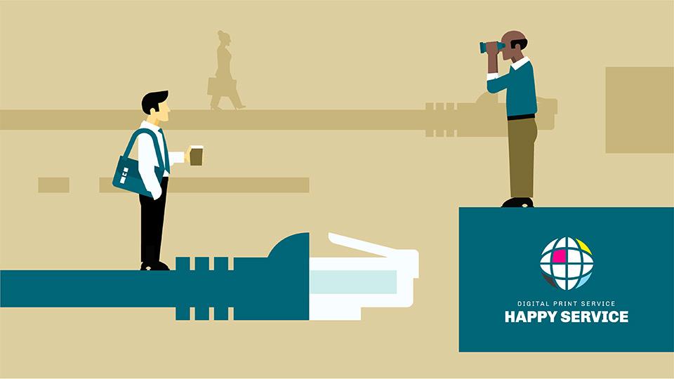 Happy Service è leader nel settore della stampa digitale a Roma dal 1999, da quasi vent'anni ogni giorno serviamo i nostri clienti con competenza, professionalità e passione. I nostri standard qualitativi sono sempre molto elevati, grazie al continuo rinnovamento delle tecnologie di stampa, alle procedure lavorative curate nei minimi dettagli, alla dedizione e all'attenzione del lavoro ed i suoi particolari. Per fare tutto ciò Happy Service può contare su persone appassionate, creative e di talento, in grado, con il loro patrimonio di competenze, esperienze ed energie, di fare la differenza ogni giorno. Nella convinzione che siano le persone a determinarne il successo, la Happy Service offre ai propri dipendenti un ambiente di lavoro gratificante, nel quale è premiato il merito, è incentivato il lavoro di squadra e sono garantite formazione e opportunità di sviluppo a tutti i livelli. Happy Service è in costante ricerca di figure professionali preparate al fine di implementare il proprio organico nei suoi centri stampa. La prima figura è di FRONT-DESK per l'accoglienza del cliente, la capacità al Problem Solving e la conoscenza del funzionamento delle macchine multiuso, piccolo e grande formato (fotocopiatrici/stampa/scansione) nonché la conoscenza della suite Adobe, con maggiore attenzione ai pacchetti Photoshop, Indesign ed Illustrator e del programma Autocad. La seconda figura più complessa e di maggior esperienza è sicuramente quella di TECNICO PER LA STAMPA DI LABORATORIO dove sono presenti numerose macchine per la stampa grande formato, per il taglio, rilegatura, fresatura, laminazione, plastificazione, piegatura, ecc. Anche qui oltre alla conoscenza delle macchine si richiede una comprovata formazione su software per la stampa del tipo Adobe Reader, Versawork, PowerPlotter, ecc. Se credi di rispondere a questi requisiti e ti senti all'altezza inviaci la tua candidatura a: hsrisorseumane@gmail.com.