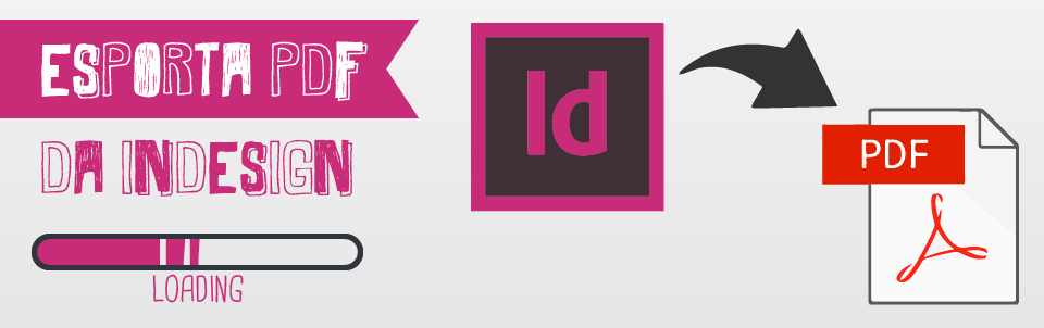 esportare pdf da indesign happy service