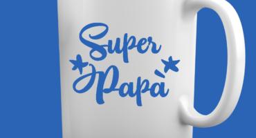 Tazza Festa del Papà -Super Papà