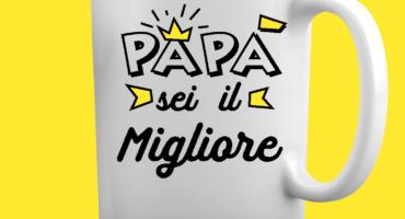 Tazza Festa del Papà -Sei il migliore