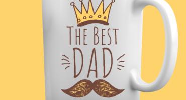 Tazza Festa del Papà -The Best Dad.