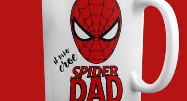 Tazza Festa del Papà -Spider-Dad